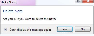 sticky notes windows 10 как удалить
