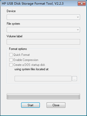 hp usb format tool download