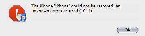itunes could not connect to this iphone  an unknown error occurred