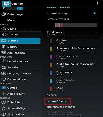 SD Memory Card Wont Mount – Fix Unmounted SD SDHC SDXC CF