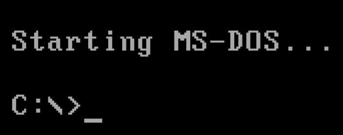 ms dos recover files