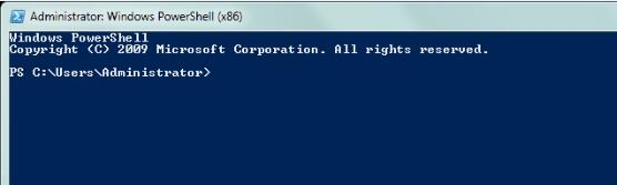 powershell recovery