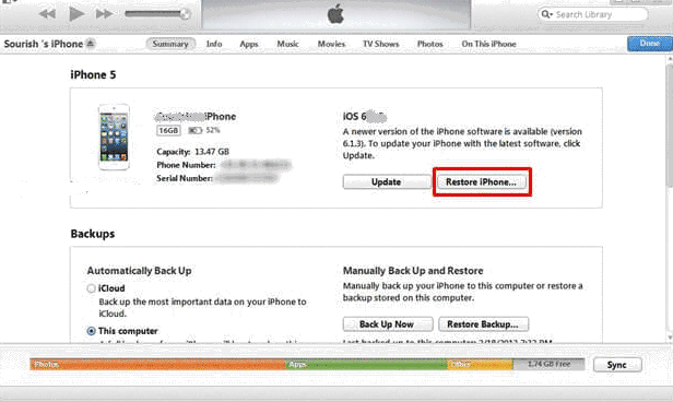 how to restore iphone without itunes how to restore disabled iphone from icloud backup 3226