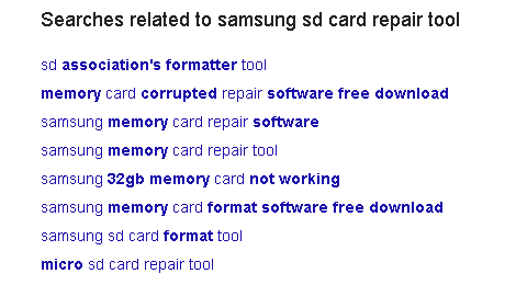 sd card repair