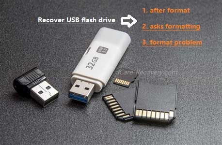 Recover data from formatted usb pen drive.
