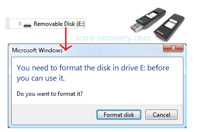 SanDisk Cruzer not formatted Solution | raw sandisk not