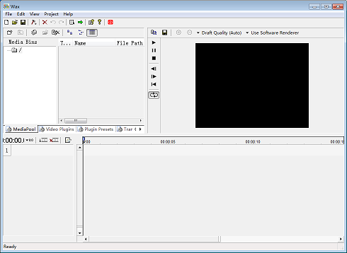 wax video editor software