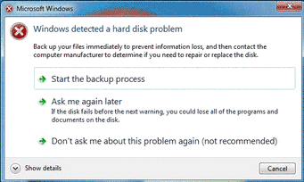 Windows Detected a Hard Disk Problem | Fix corrupted damaged