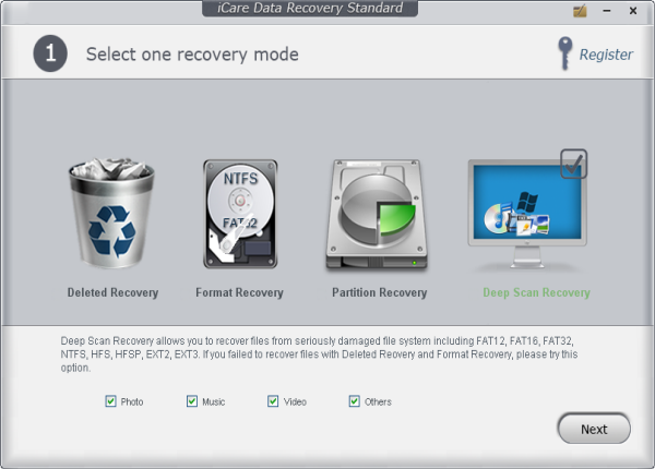 fat partition recover files