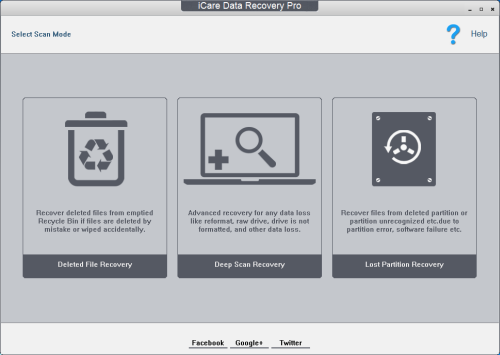 icare free data recovery software